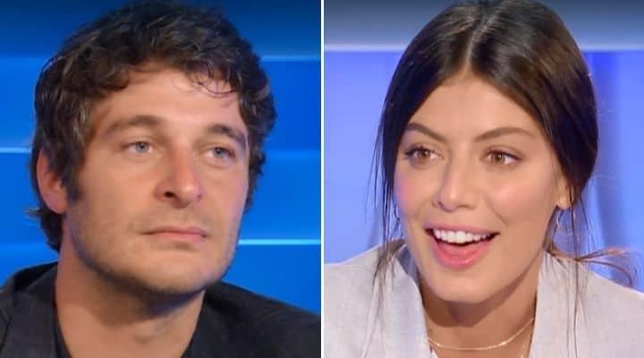 Alessandra Mastronardi e Lino Guanciale a Domenica In