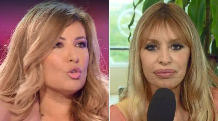 Selvaggia Lucarelli contro Alessandra Mussolini a Domenica In