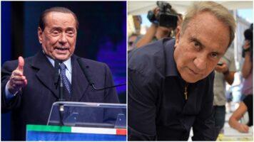 Silvio Berlusconi e Emilio Fede