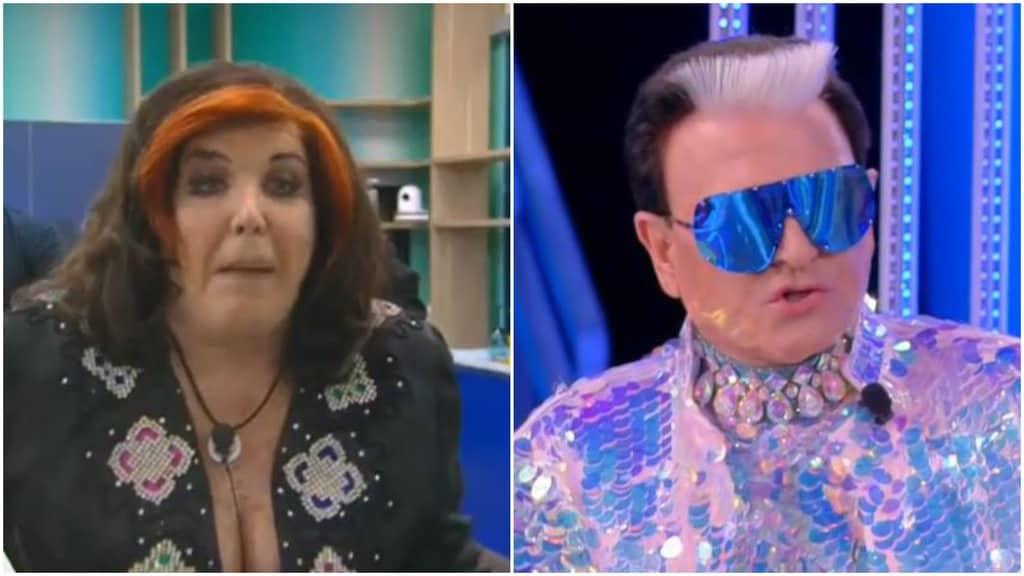 Patrizia De Blanck e Cristiano Malgioglio