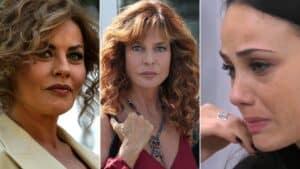 Eva Grimaldi, Giuliana Del Sio e Adua Del Vesco, coinvolte nell'Aresgate
