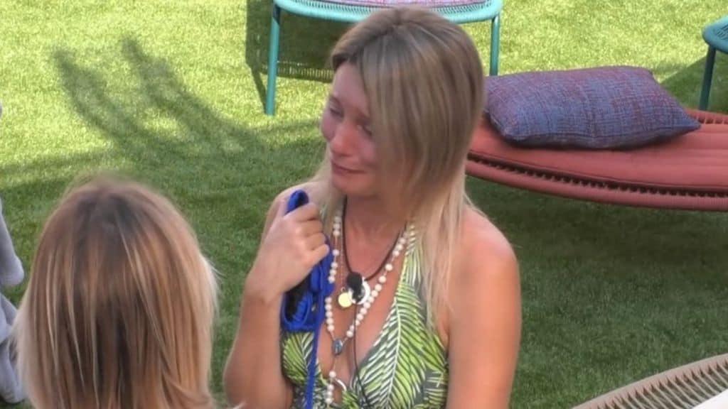Flavia Vento in lacrime al GF Vip
