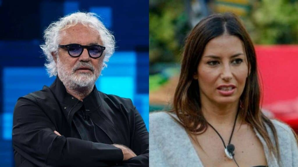 GF Vip, Flavio Briatore: risposte al vetriolo a Elisabetta Gregoraci