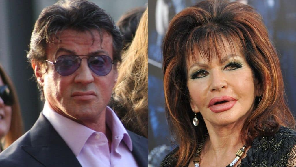 jackie stallone e Sylvester stallone
