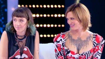 Asia Argento e Anna Lou Castoldi da Barbara D'Urso