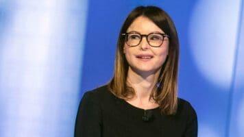 La deputata sfigurata Lucia Annibali