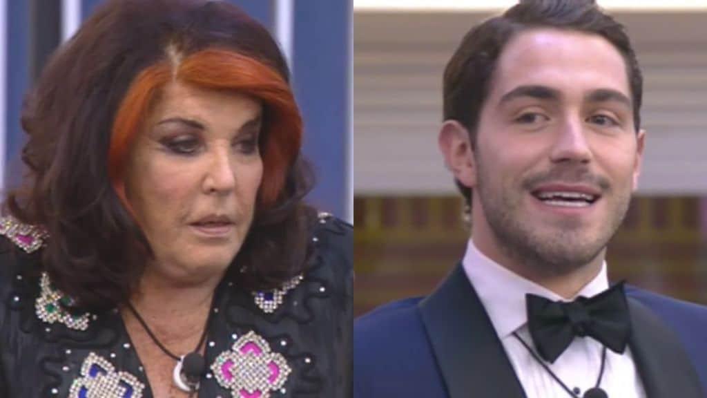 Patrizia De Blanck e Tommaso Zorzi al Grande Fratello Vip