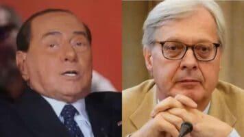 """Vittorio Sgarbi fa marcia indietro sul coronavirus: """"Se le condizioni di Berlusconi peggiorassero, allora avrei sottovalutato la cosa"""""""