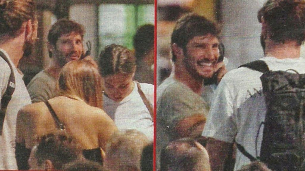Stefano De Martino, Ignazio Moser e Cecilia Rodriguez