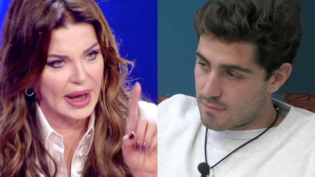 Alba Parietti e Tommaso Zorzi
