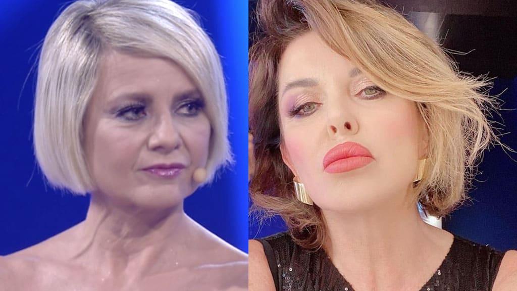 Antonella Elia e Alba Parietti