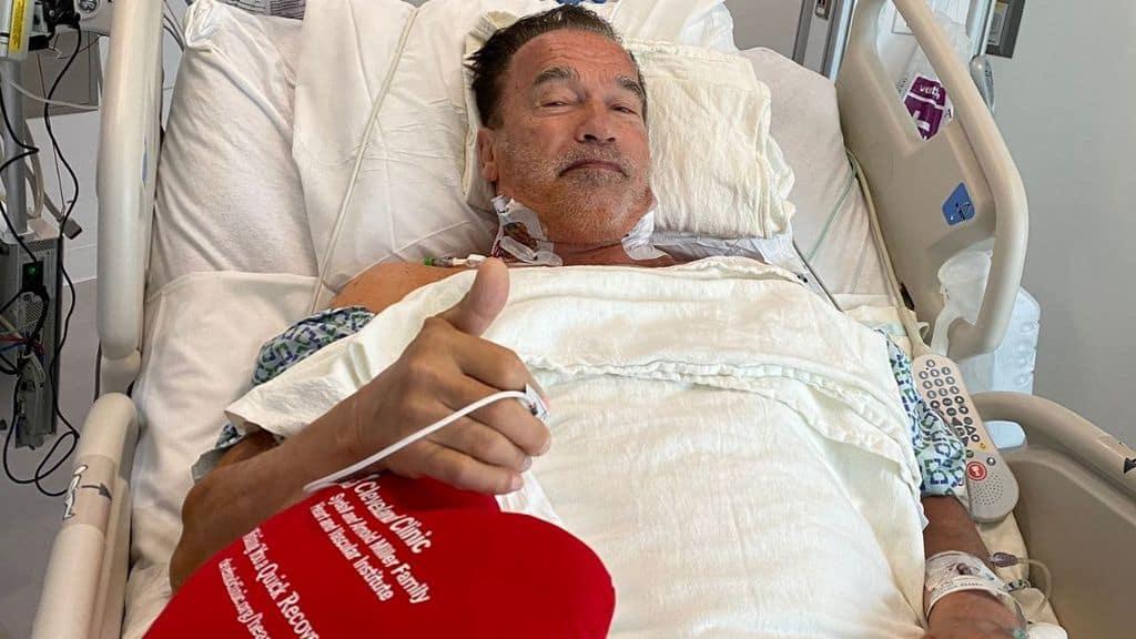 Arnold Schwarzenegger rassicura i fan dopo l'operazione al cuore