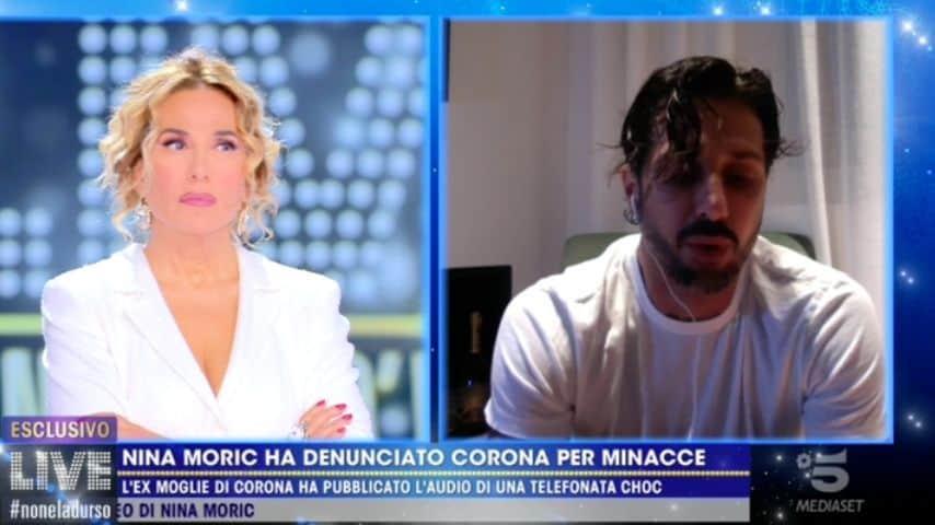 Fabrizio Corona a Live -Non è la d'Urso
