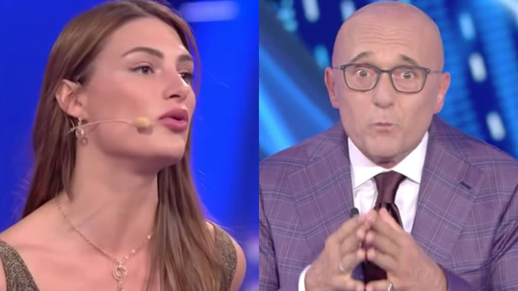 Franceska Pepe e Alfonso Signorini