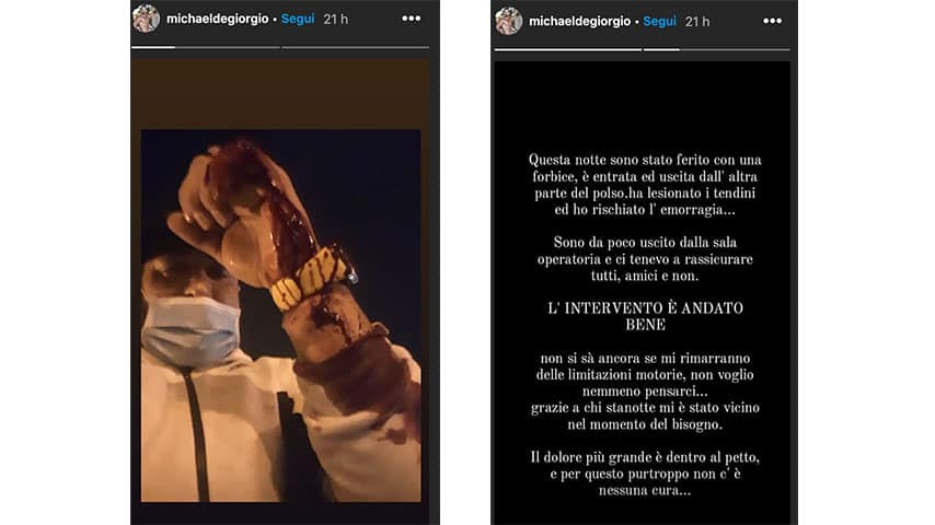 Instagram Stories di Michael De Giorgio