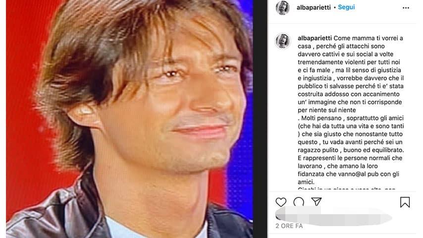 Post di Alba Parietti su Instagram