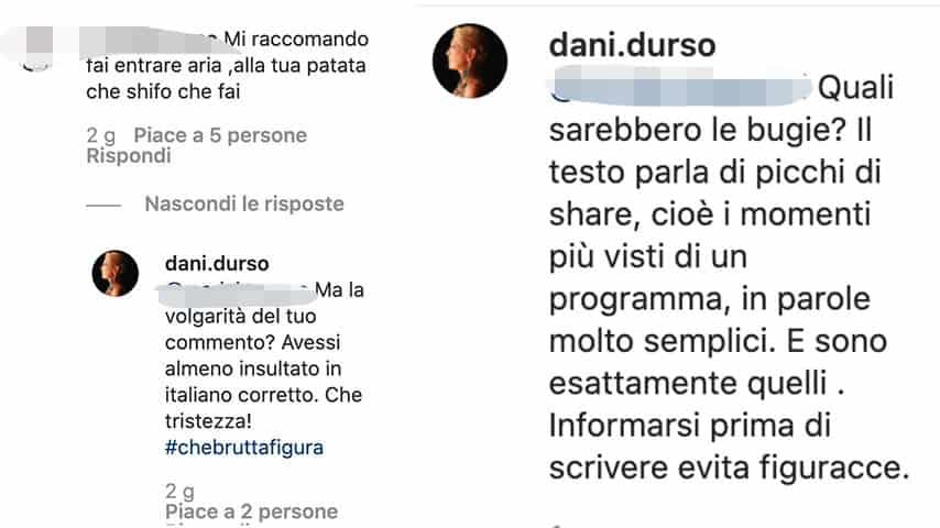 Post di Daniela d'Urso su Instagram