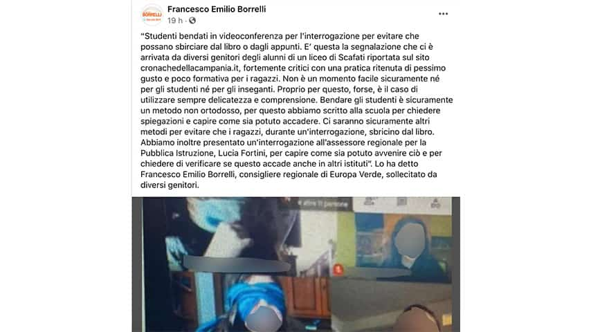 Post di Francesco Emilio Borrelli