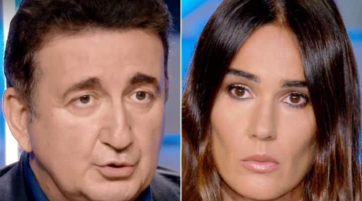 Roberto Giacobbo e Silvia Toffanin a Verissimo