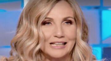 Lorella Cuccarini a Verissimo