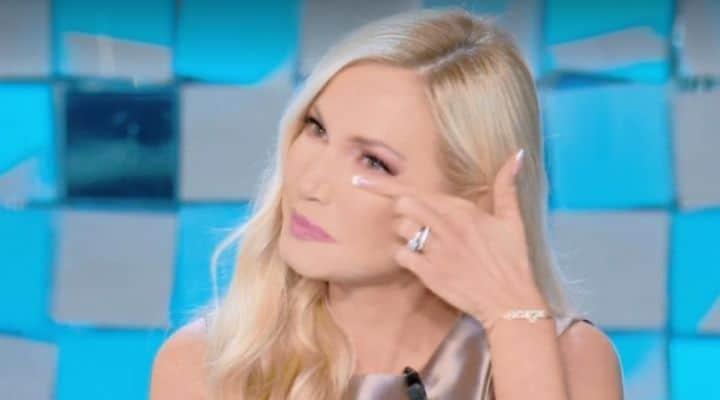 Federica Panicucci in lacrime al GF Vip