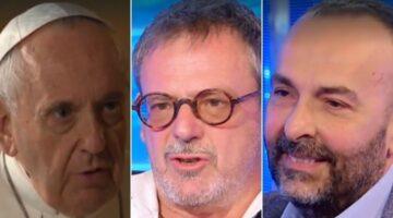 Papa Francesco, telefonata a una coppia omosessuale