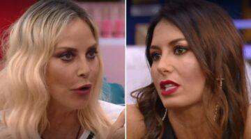 Stefania Orlando e Elisabetta Gregoraci al GF Vip