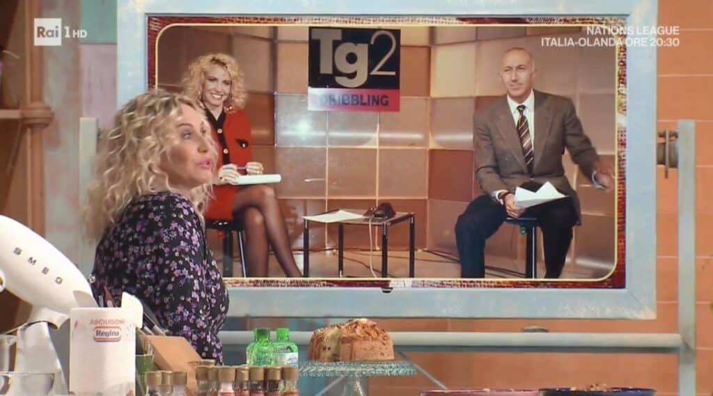 Antonella Clerici ricorda Gianfranco De Laurentiis