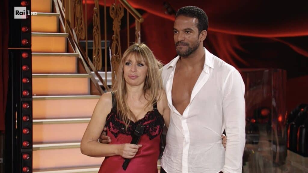 Maykel Fonts e Alessandra Mussolini