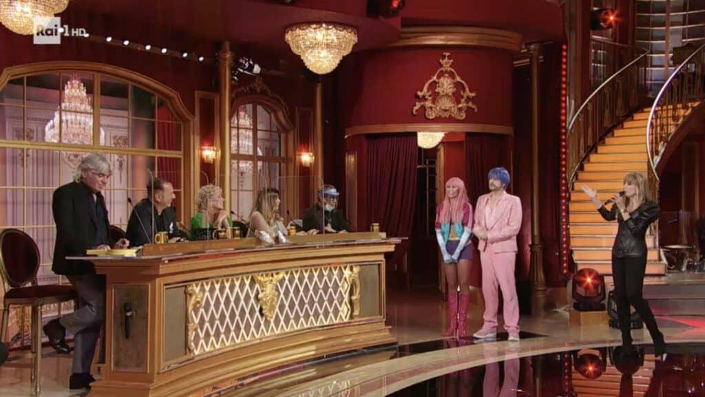 Il giudizio di Costantino e Sara