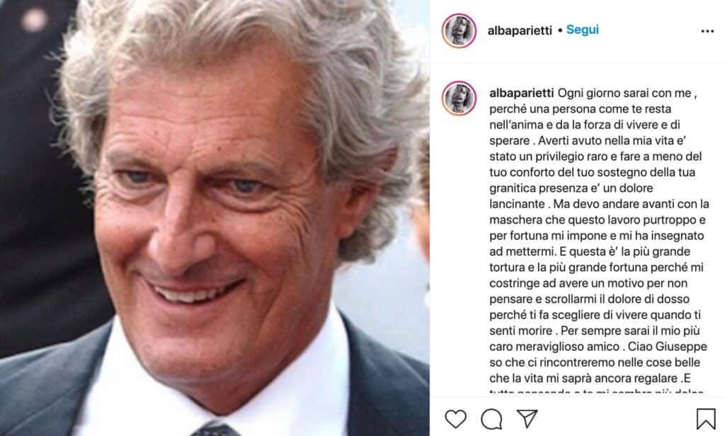 post di Alba Parietti
