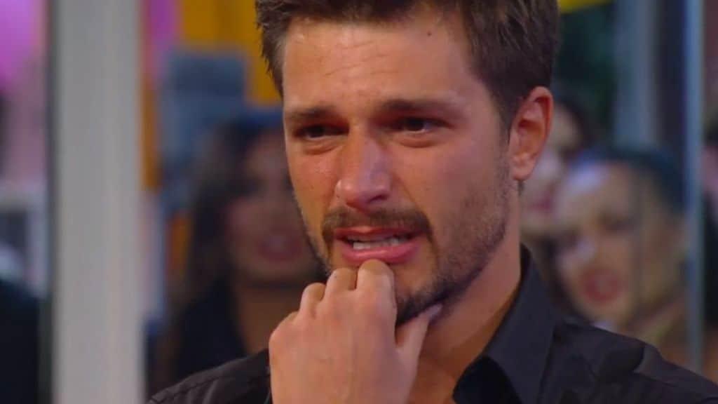 Andrea Zelletta in lacrime al GF Vip