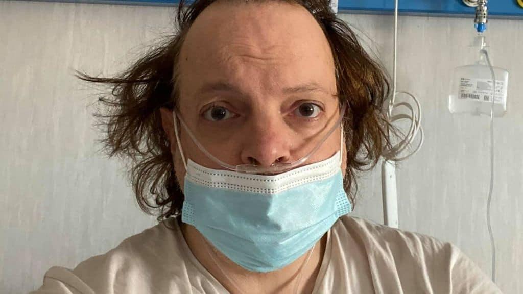 Il comico Dado in ospedale