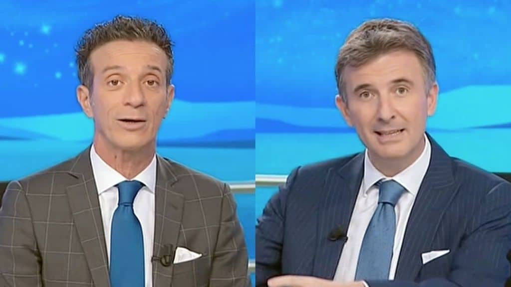 I conduttori di Striscia Ficarra e Picone