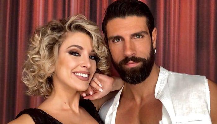 Gilles Rocca con Lucrezia Lando a Ballando con le Stelle