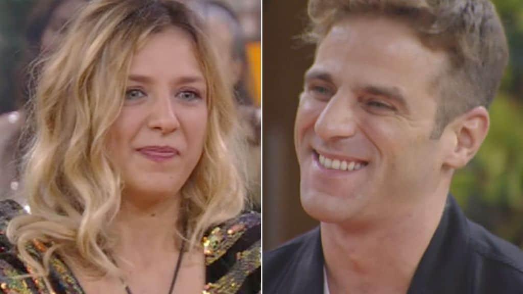 Myriam Catania incontra il fidanzato al Grande Fratello Vip