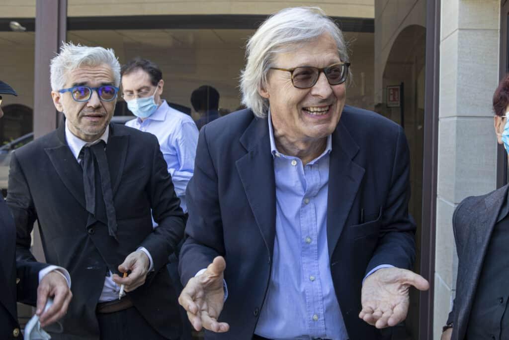 Vittorio Sgarbi e Morgan