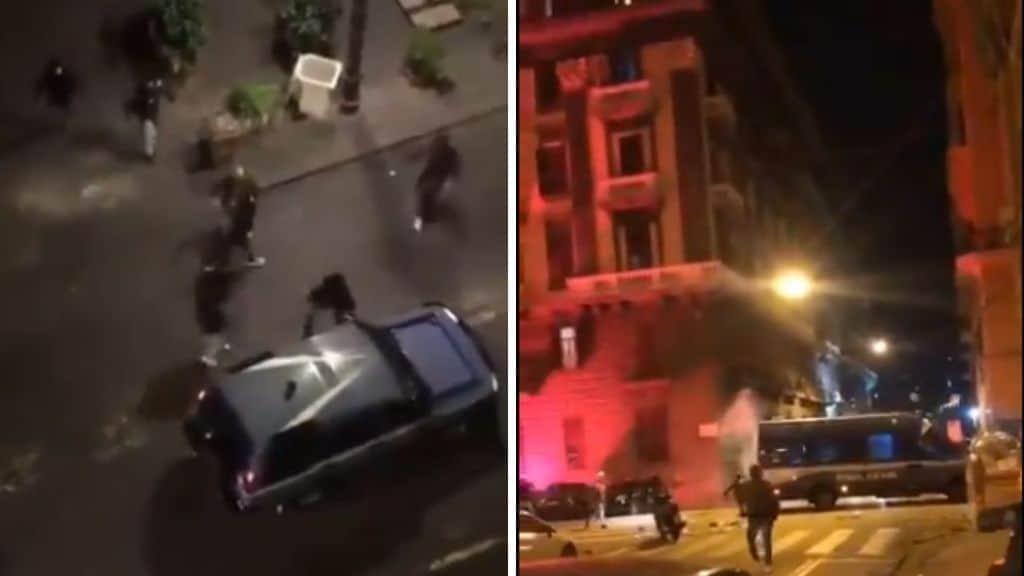 Coronavirus, Campania in lockdown: notte di scontri violenti a Napoli