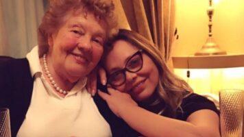 Ornella Muti insieme alla madre Ilse