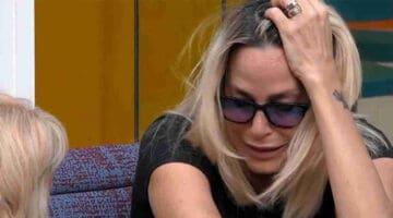 Stefania Orlando piange Grande Fratello Vip