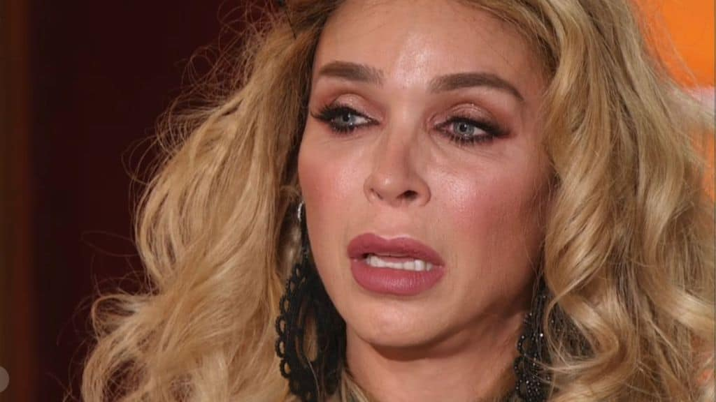 L'attrice Vittoria Schisano in lacrime a Ballando con le Stelle