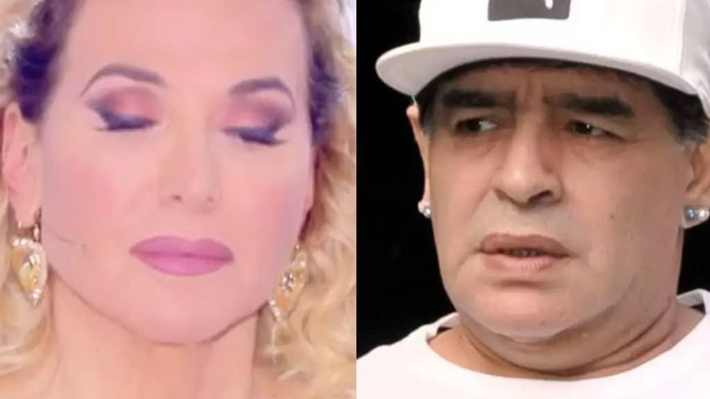 Barbara d'Urso e Maradona
