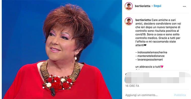 Post di Orietta Berti su Instagram