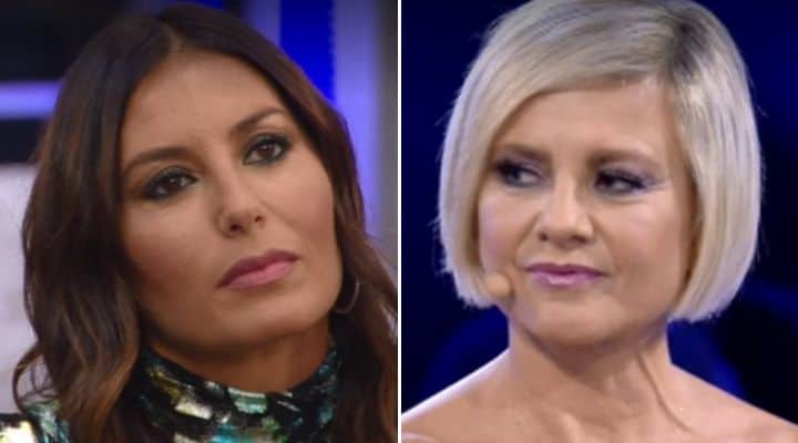 Elisabetta Gregoraci e Antonella Elia al GF Vip