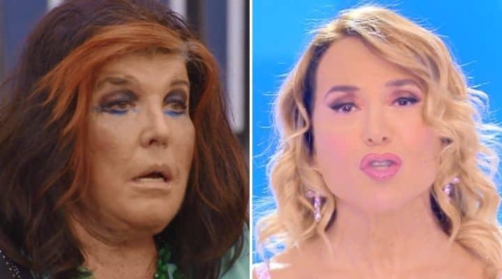 Patrizia De Blanck e Barbara D'Urso