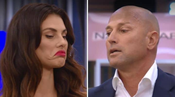Stefano Bettarini e Dayane Mello al GF Vip