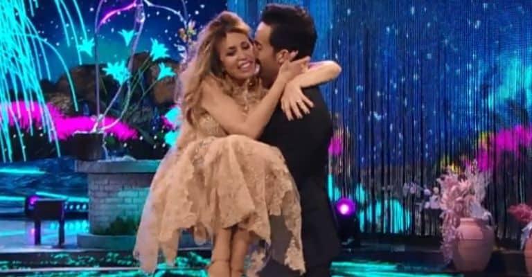 Alessandra Mussolini e Samuel Peron a Ballando con le stelle