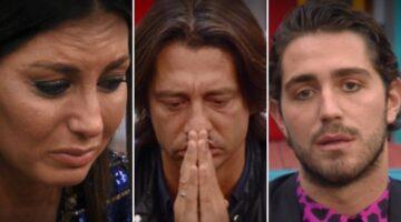 Elisabetta, Francesco e Tommaso al GF Vip