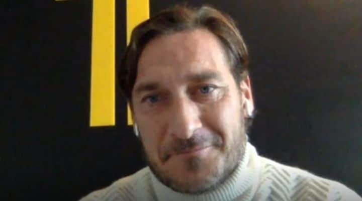 Francesco Totti a Verissimo