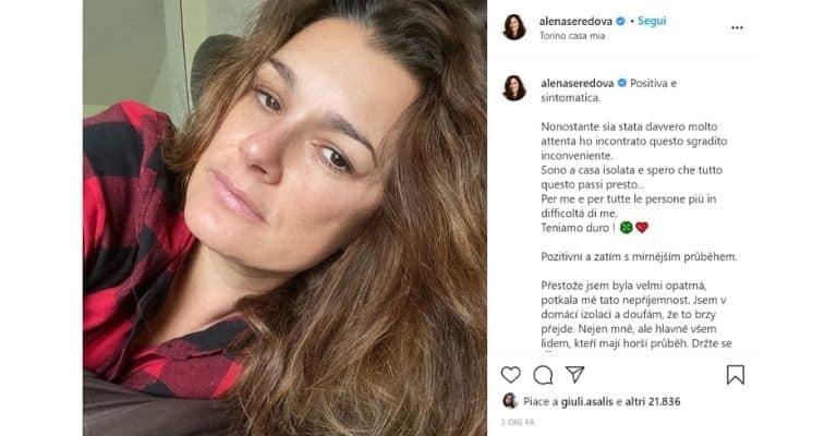 Il post di Alena Seredova